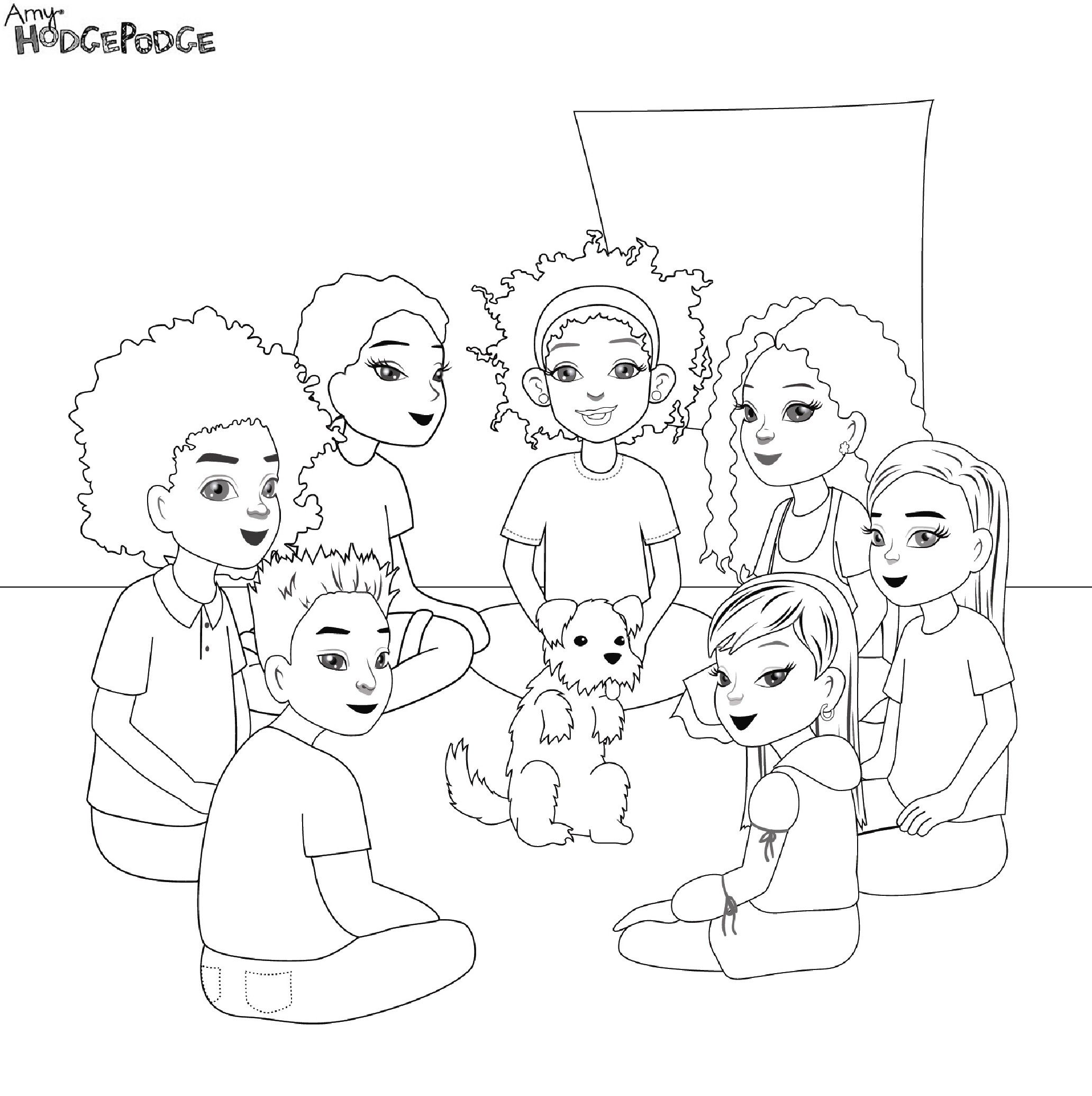 bff pictures coloring pages - photo #27